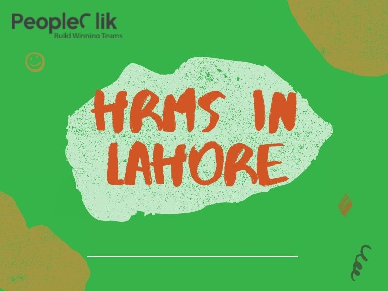 HRMS in Lahore : Supporting Time Tracking Tools to Manage Employees